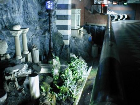 Стокгольмское метро. Фото: reddit.com