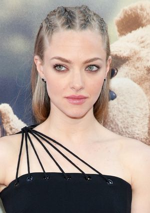 "NEW YORK, NY - JUNE 24:  Actress Amanda Seyfried attends the New York Premiere of ""Ted 2"" at the Ziegfeld Theater on June 24, 2015 in New York City.  (Photo by Neilson Barnard/Getty Images)"