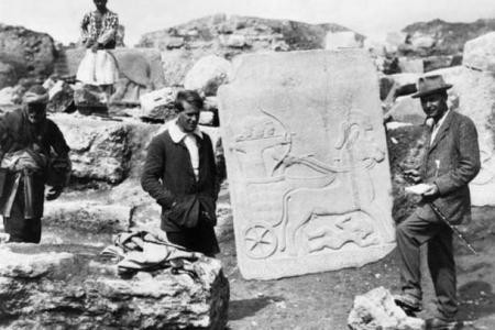 Hittite-slab