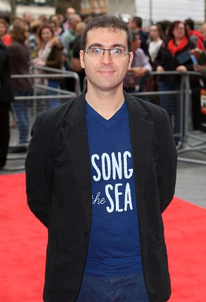 "LONDON, ENGLAND - OCTOBER 18:  Director Tomm Moore attends the red carpet arrivals of ""Song Of The Sea"" during the 58th BFI London Film Festival at Odeon West End on October 18, 2014 in London, England.  (Photo by John Phillips/Getty Images for BFI)"