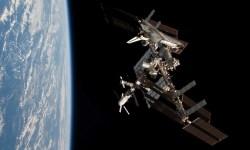 МКС космонавты