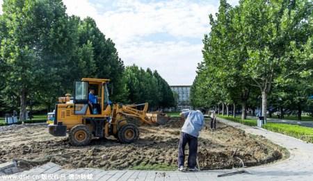 Внутрипартийная борьба, сняли памятник Цзяну