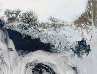 Гренландия, таяние льдов, экосистема, фото, NASA