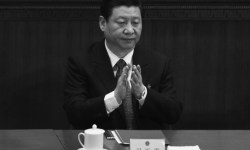 перед пленарной сессией Си Цзиньпин