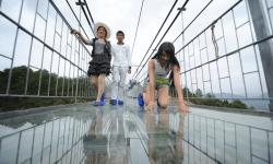 Китай, стеклянный мост, Хунань, каньон Чжанцзяцзе