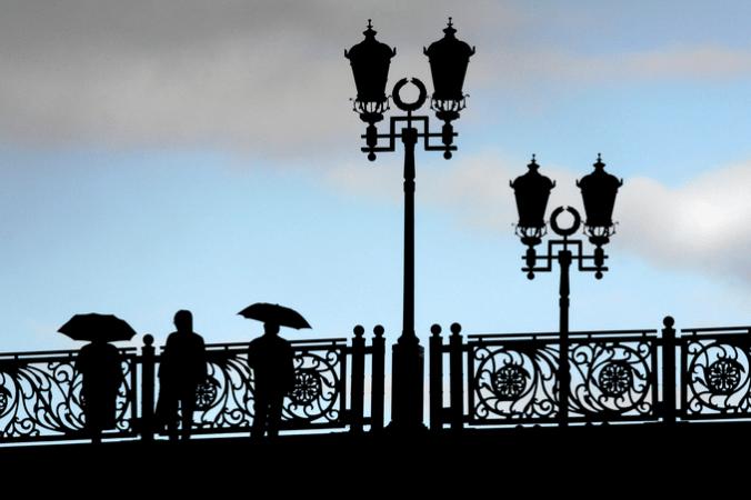 Москва, смотровые площадки, бинокли, мосты