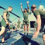 CrossFit, бёрпи, упражнения, тренировки