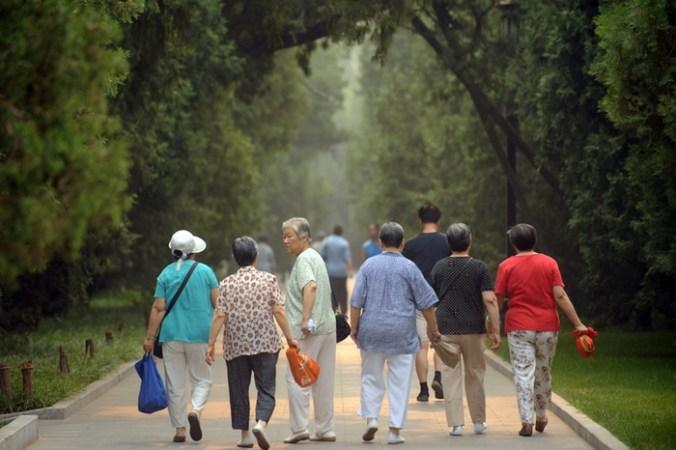 стареющее население Китая