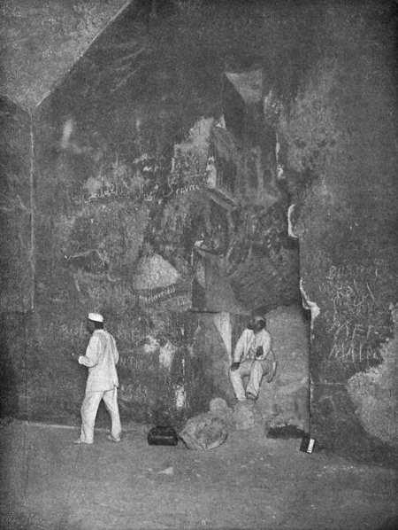 Ниша в камере царицы. Фото: Bakha~commonswiki/wikipedia.org/public domain