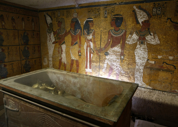 Гробница Тутанхомона. Фото: CRIS BOURONCLE/AFP/GettyImages)