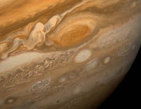 Большое красное пятно Юпитера. Фото: NASA