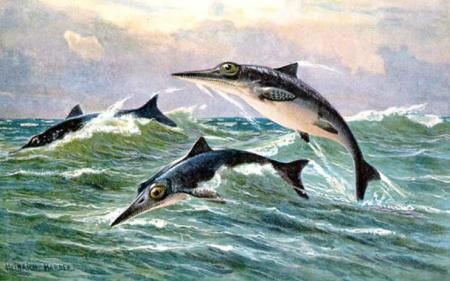 морские чудовища рисунок