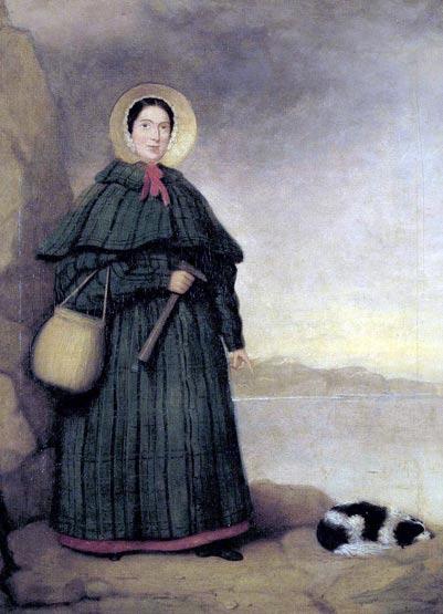 Портрет Марии Аннинг, английского коллекционера окаменелостей и палеонтолога. Фото: Public Domain