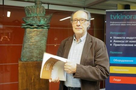 Патрик Каменка, гость кинофестиваля из Франции. Фото: Ульяна Ким/Великая Эпоха (Epoch Times)