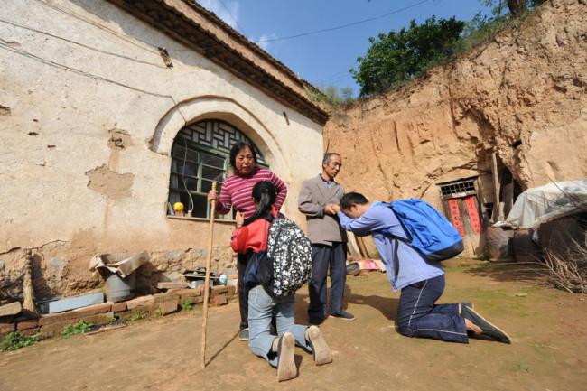5 сентября 2015 года. Деревня в районе города Чанчжи провинции Шаньси. Фото epochtimes.com