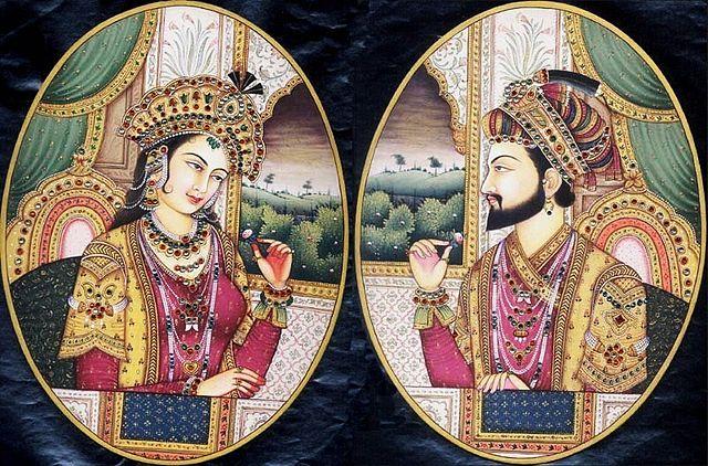 Мумтаз-Махал и падишах Шах Джахан. Фото: Rayaraya/wikipedia.org/CC BY-SA 3.0