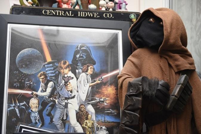 Гвэндолин Кристи (капитан Фазма), «Звёздные войны: пробуждение Силы». Фото: David James/Lucasfilm Ltd./Walt Disney Studios Motion Pictures