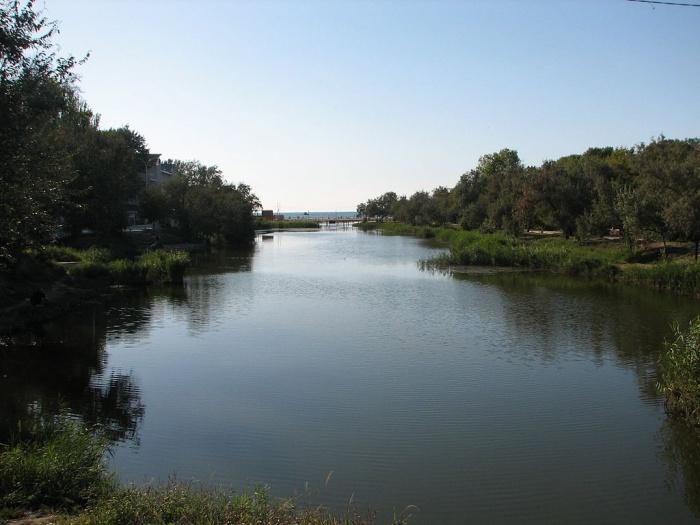 Река Анапка в Анапе. Фото: Artem Topchiy/commons.wikimedia.org/CC BY 3.0