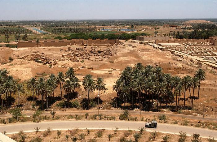 Руины Вавилона. Фото: U.S./wikipedia.org/public domain