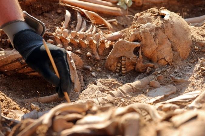 Международная группа учёных разгадала тайну захоронения «безголовых римлян», останки которых найдены в британском Йорке в 2004-2005 году