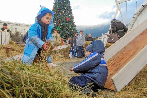 Сказочная деревня в Ялте дарила радость четыре дня. Фото: Алла Лавриненко/Великая Эпоха