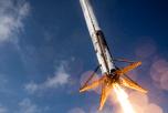 видео крушения Falcon 9
