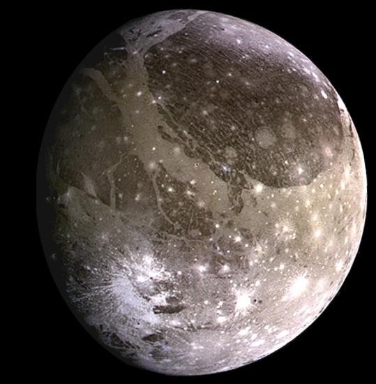 Ганимед. Фото: NASA