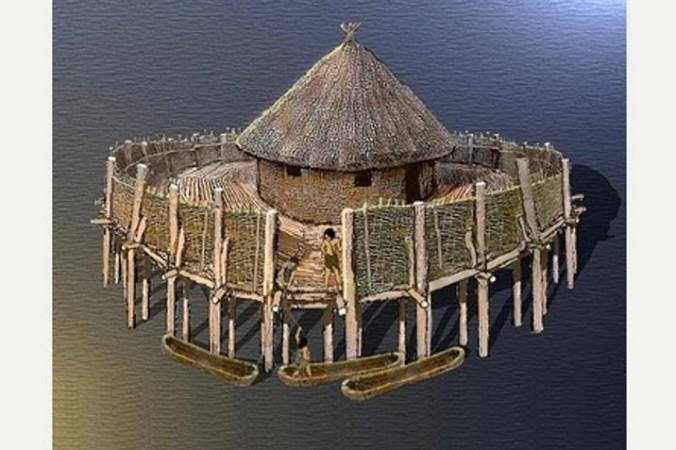 крепость на воде
