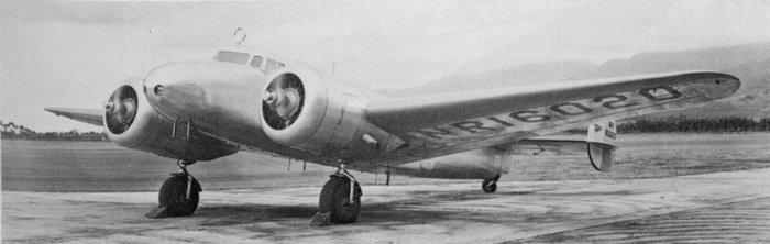Самолёт Амелии Эрхарт «Локхид-Электра» L-10E. Фото: Logawi/wikipedia.org/public domain
