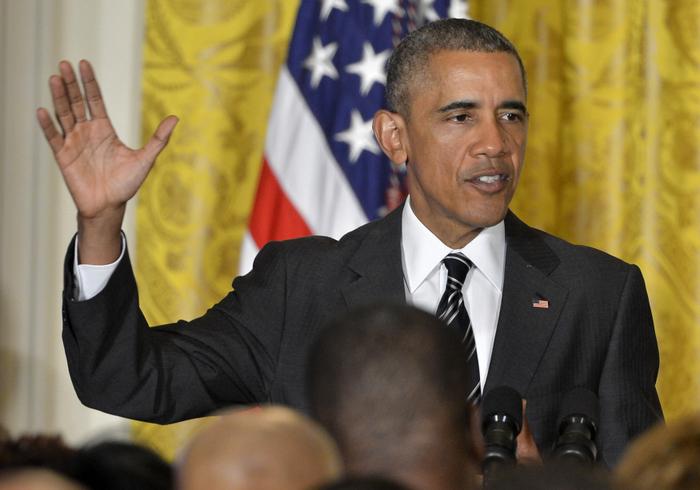 Барак Обама подписал законопроект, ужесточающий санкции против КНДР. Фото: Фото: Chung Sung-Jun/Getty Images