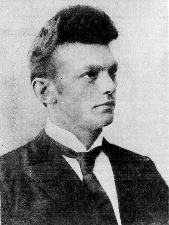 Исландский медиум Индриди Индридасон (1883–1912). Фото: Public Domain