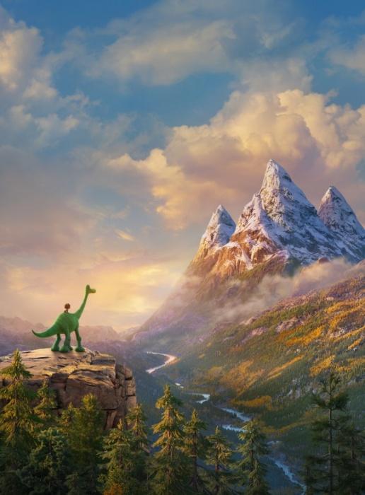 Путешествие Спота и Арло подходит к концу. Фото: 2015 Disney/Pixar