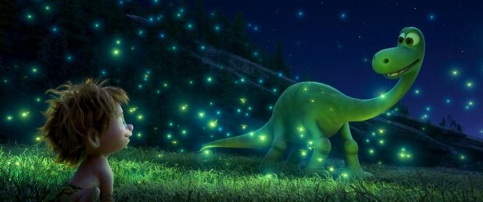 Спот и Арло. Фото: 2015 Disney/Pixar