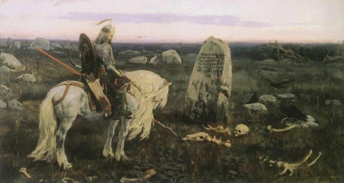 В. М. Васнецов. Витязь на распутье. Фото: commons.wikimedia.org/public domain