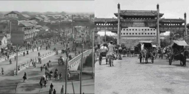 Дэшэнмэнь в 20-е годы. Фото: Sina; Screen shot/chinatravel20.com