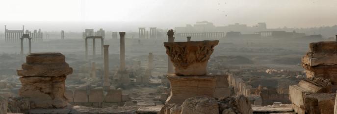 Панорама Пальмиры. Фото: Zelidar/wikipedia.org/CC BY 2.5