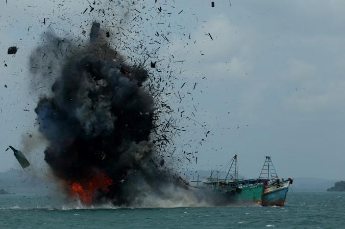 китайское судно