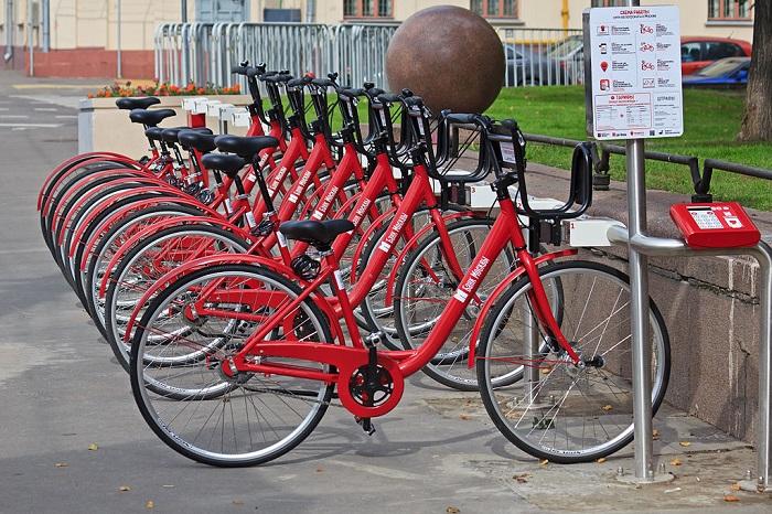 станция проката велосипедов