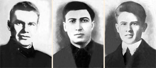 А. Кошурников, К. Стофато, А. Журавлёв