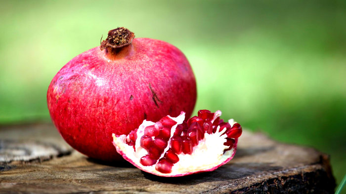 гранат, фрукт, сочность