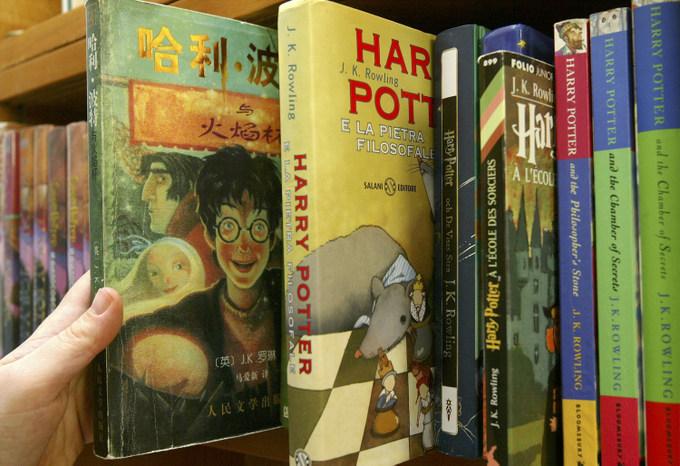Книги Гарри Поттере переведены на множество языков. Фото: David Silverman/Getty Images