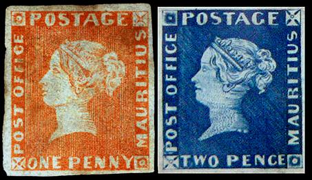 Почтовые марки Маврикия
