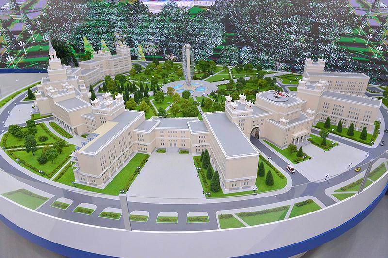 Уникальный медицинский кластер на Кавказе построят за 160 млрд рублей