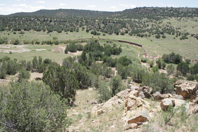 Место в Аризоне, где нашли петроглифы, расположено вдали от публичных мест и дорог. Фото: Courtesy of John Ruskamp