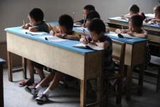 китайские школьники