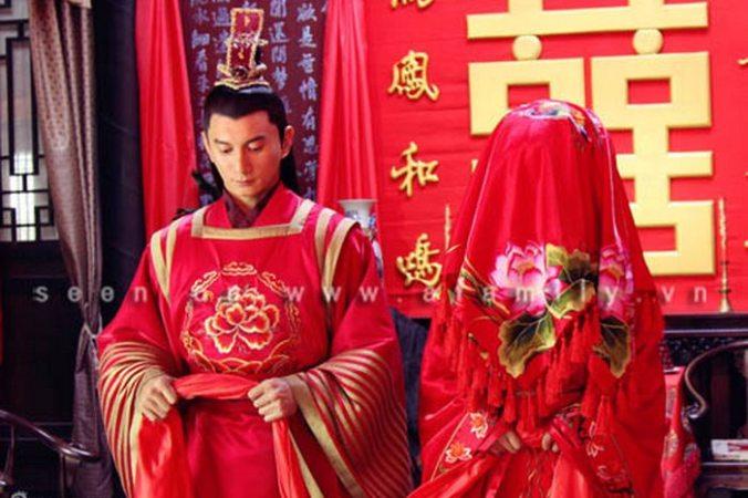 Свадьба в древнем Китае.
