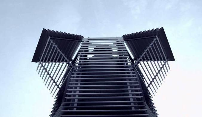 Собирающая смог башня