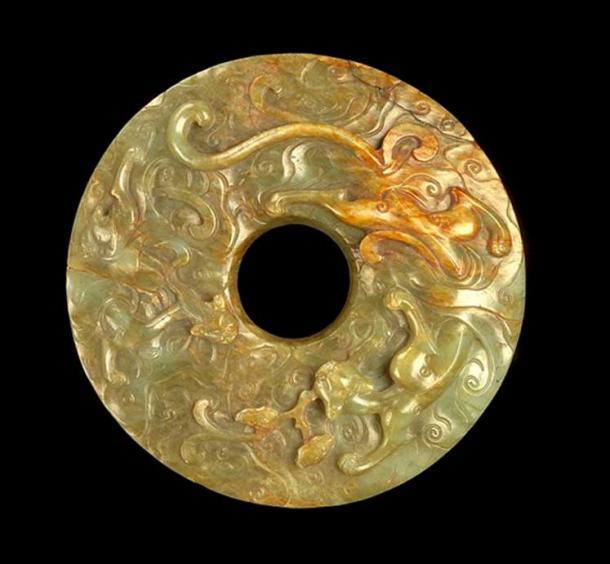 Нефритовый диск