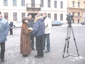 Мероприятие было освещено телеканалом Россия. Фото: Великая Эпоха