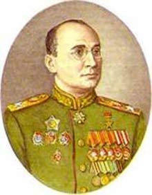 Главный сталинский кат. глава НКВД СССР маршал Лаврентий Берия (расстрелян).